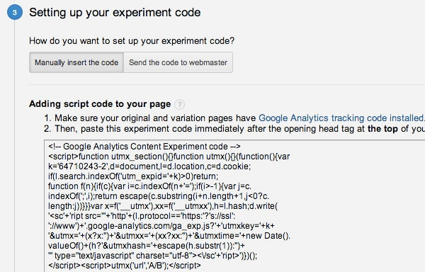 Adding the code