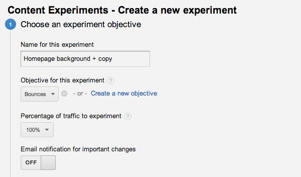 Content Experiments