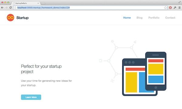 Startup framework Rails
