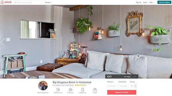 Listing Airbnb