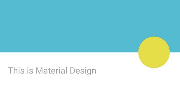 Material Design Slideshow