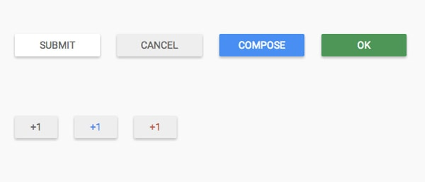 Material Design UI Buttons