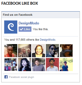 The Facebook Like Widget in Action
