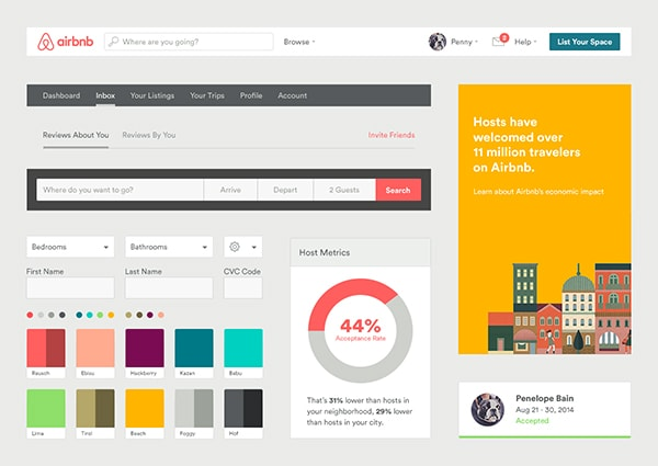 How To Create a Web Design Style Guide , Designmodo