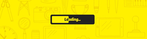 Wait a Minute: Examples of Page Preloading Animations