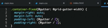 Build a Responsive Grid System in LESS with Recursive Mixins