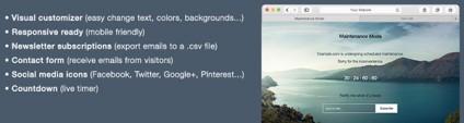 Maintenance Mode for WordPress – Plugin Review