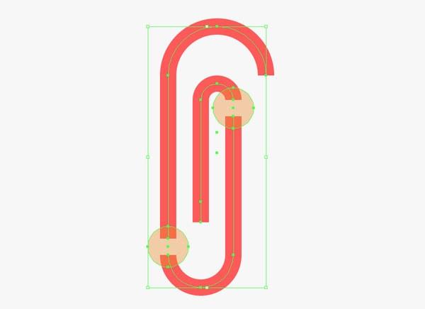 Paper Clip Uniting Anchor Points