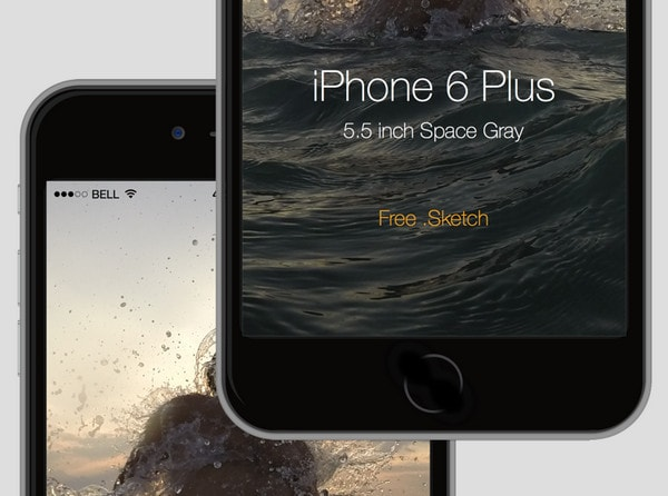 iPhone 6 Plus mock up