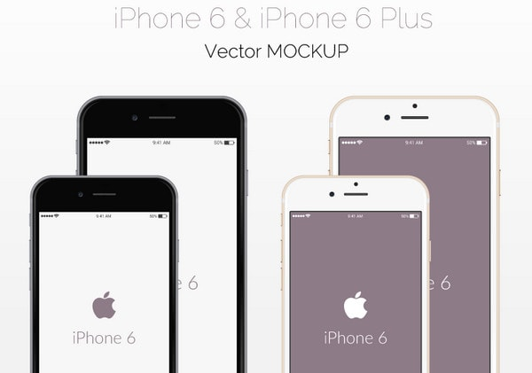 iPhone 6 Mockup by GraphBerry
