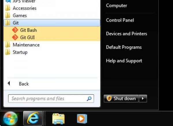 git bash windows