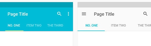 Lessons Learned From Analyzing Material Design Components