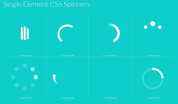Collection of Free Preloaders and Loading Animated Spinners