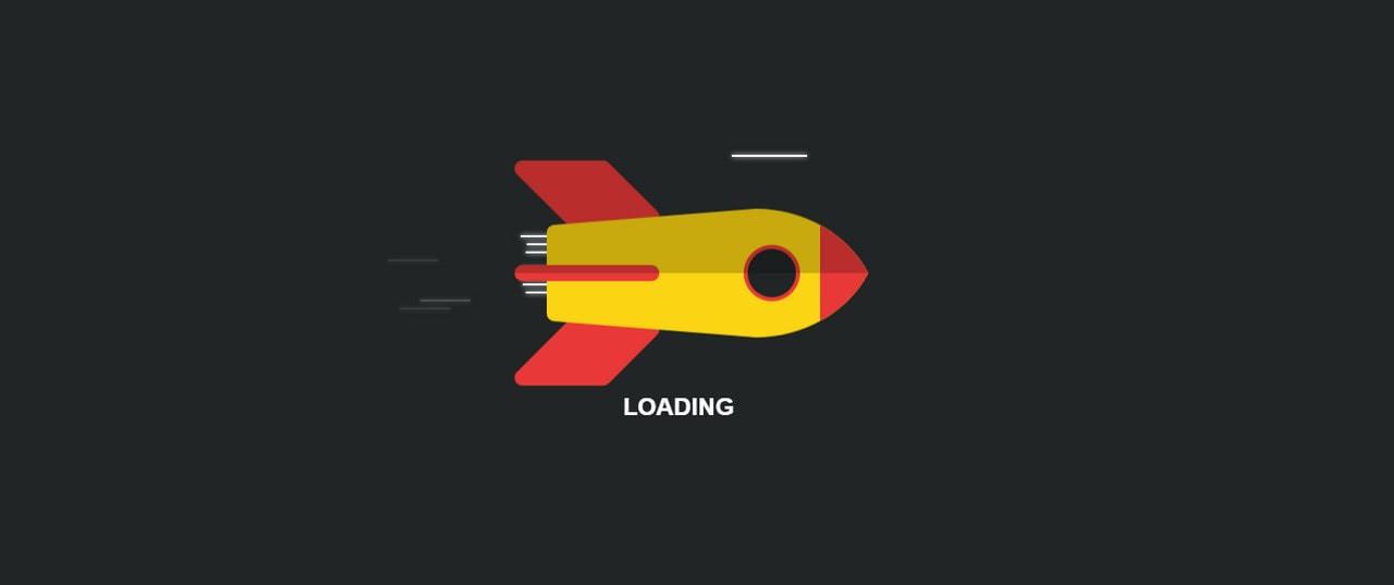 Rocket Loading Screen by Kilian Maret