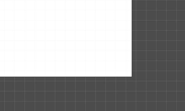 Artboard with decimal values
