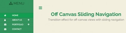 How to Create Off-Canvas Sliding Navigation Menu