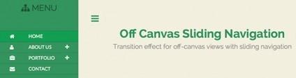 How to Create Off-Canvas Sliding Navigation Menu