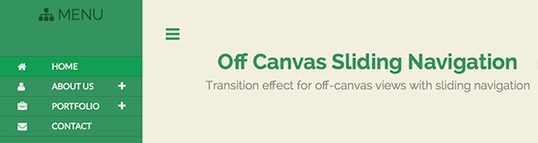 How to Create Off-Canvas Sliding Navigation Menu - Designmodo