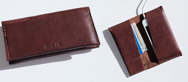 Leather iPhone Case and Card Holder