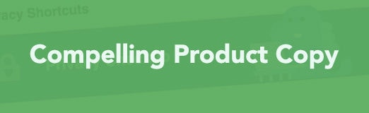 How to Rock in Product Copy on the Fly