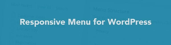 Creating a Responsive Menu in WordPress