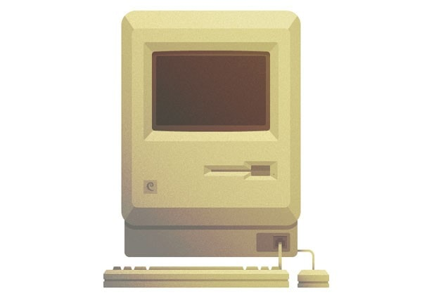Create Macintosh in Adobe Illustrator