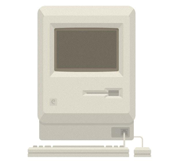 Macintosh texturized