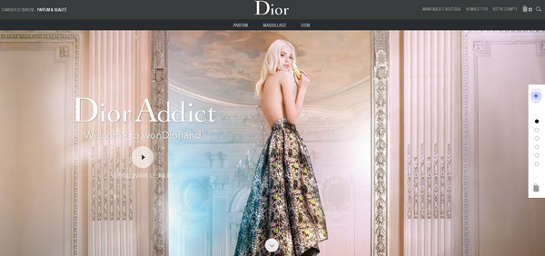 Best Website Designs from France: The Citadel of Fashion and Art ...