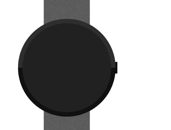 Watch button basic form