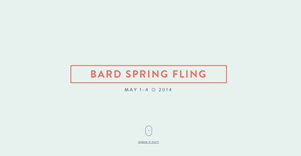 Bard Spring Fling