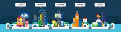 Interesting Navigation Examples in Website Design