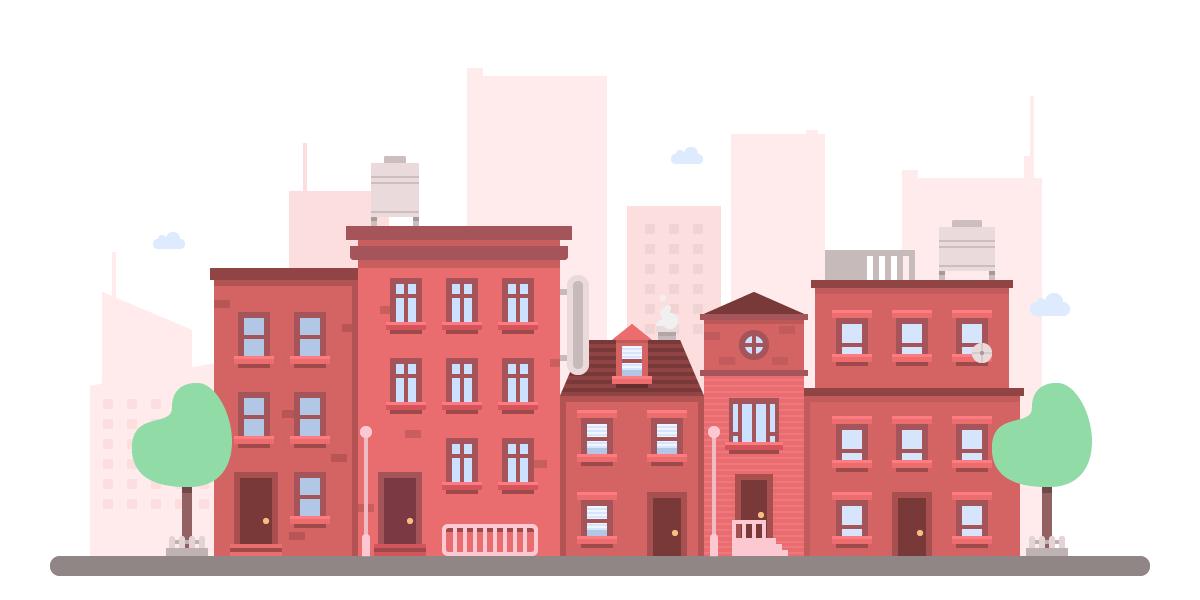 How to Create a Flat Cityscape in Adobe Illustrator - Designmodo