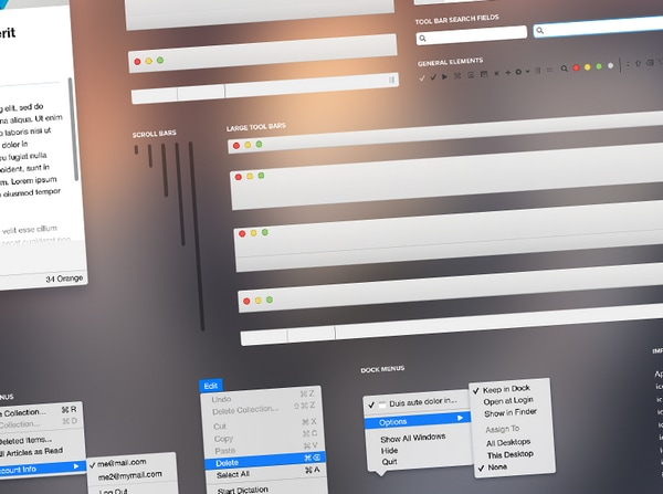 Free Ui Kits For Sketch App And Website Designers