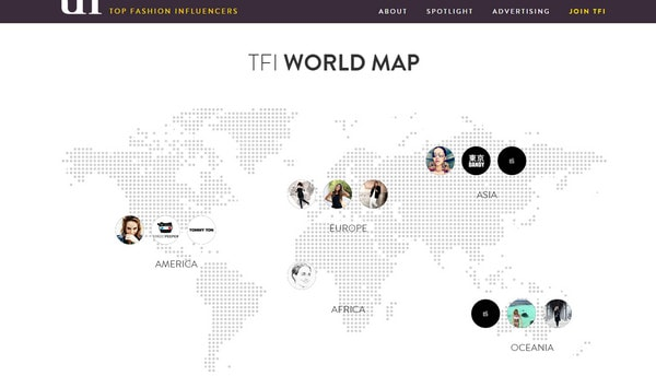 TFI World Map