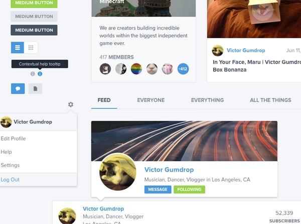 Creator Platform UI Kit