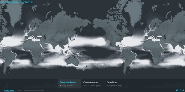 Clever use of maps in website design designmodo sailing seas of plastic gumiabroncs Choice Image