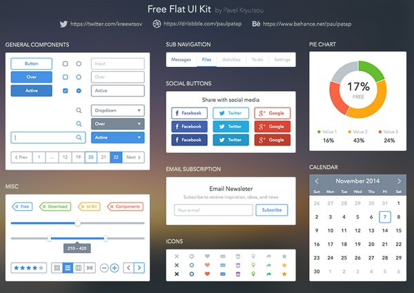 Free ui kits for sketch app and website designers designmodo for Free online drawing websites