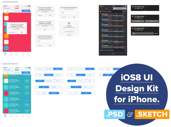 Free UI Kits for Sketch App and Website Designers - Designmodo