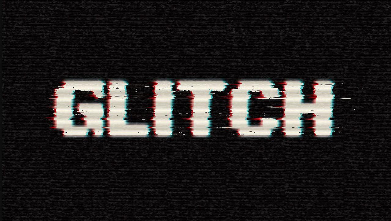 Create a Digital Glitch Text Effect