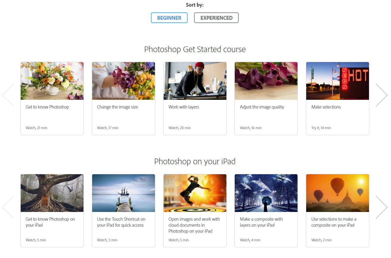 Websites to Learn Photoshop for Free