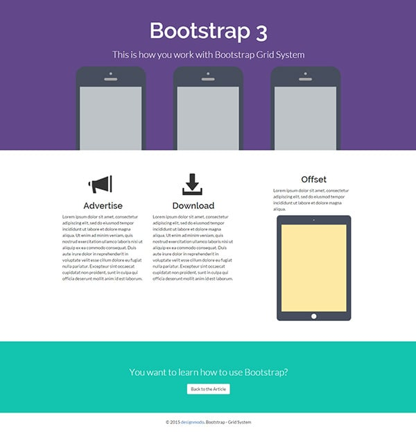 Installing Bootstrap and the Bootstrap Grid System - Designmodo