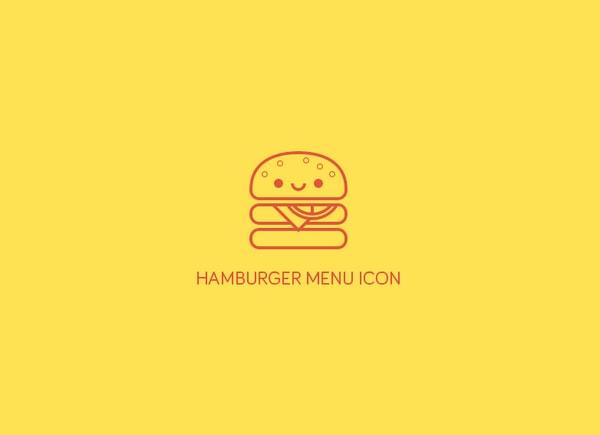 Hamburger Menu Icon