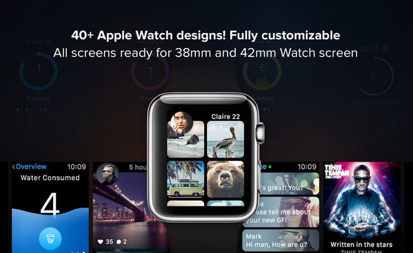 WATCH APPS CONCEPT