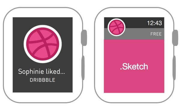 Apple Watch Wireframe