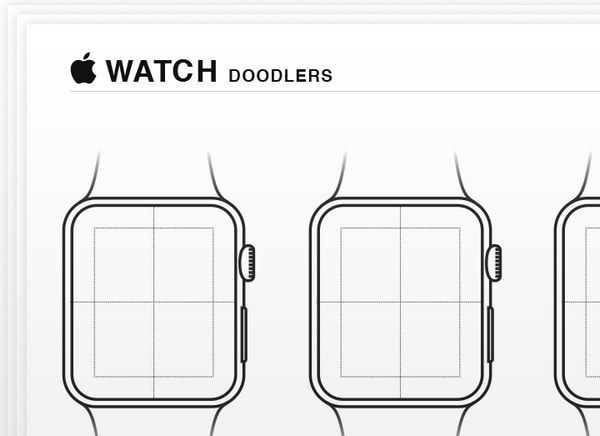 Drawing Lines Xcode : Guis wireframes and sketch templates for apple watch apps