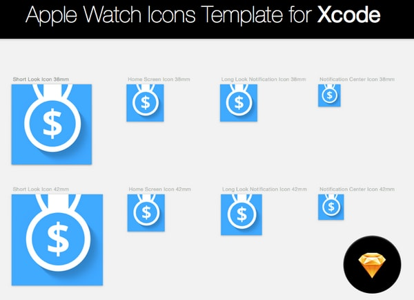 Apple Watch Icons For Xcode