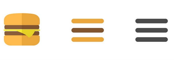 WHAT IS THE HAMBURGER ICON!?