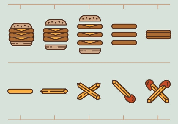 Burger To Fries by Ryan Doggendorf