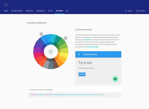 Material Design Colors