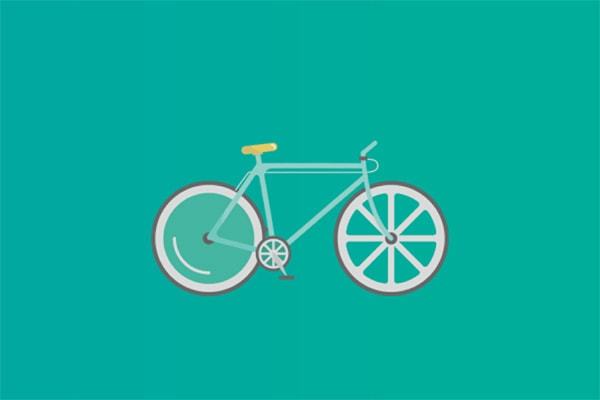 How to Animate a Flat Design Bicycle